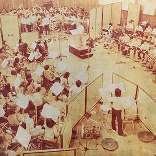 1975년 A 스튜디오 오케스트라 녹음