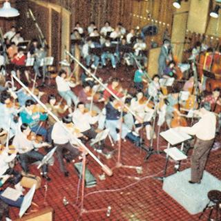 1986년 A Studio 86서울 아시안게임 계폐회식 오케스트라 녹음